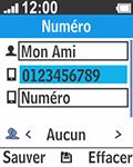 Bouygues Telecom Bc 211 - Contact, Appels, SMS/MMS - Ajouter un contact - Étape 7