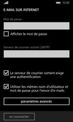 Microsoft Lumia 435 - E-mail - Configuration manuelle - Étape 14