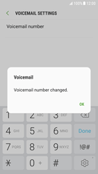 Samsung G920F Galaxy S6 - Android Nougat - Voicemail - Manual configuration - Step 10