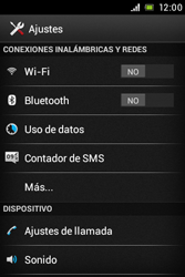 Sony Xperia E - Bluetooth - Conectar dispositivos a través de Bluetooth - Paso 4