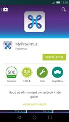 Huawei Ascend G7 - Applicaties - MyProximus - Stap 7