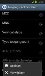 Samsung S7390 Galaxy Trend Lite - Internet - Handmatig instellen - Stap 17