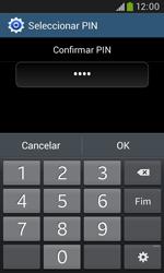 Samsung Galaxy Grand Neo - Segurança - Como ativar o código de bloqueio do ecrã -  11