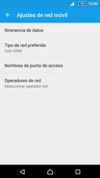 Sony Xperia Z5 Compact - Red - Seleccionar el tipo de red - Paso 8