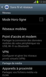 Samsung Galaxy S3 Mini - Aller plus loin - Désactiver les données à l'étranger - Étape 5