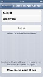 Apple iPhone 5 - Applicaties - Account aanmaken - Stap 4