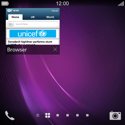 BlackBerry Q10 - Internet - Internet browsing - Step 14