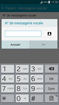 Samsung N910F Galaxy Note 4 - Messagerie vocale - configuration manuelle - Étape 10