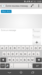 Sony Xperia E4g - Contact, Appels, SMS/MMS - Envoyer un SMS - Étape 10
