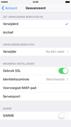 Apple iPhone 6 iOS 9 - E-mail - Account instellen (IMAP met SMTP-verificatie) - Stap 24