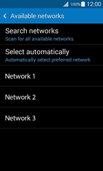 Samsung G357 Galaxy Ace 4 - Network - Manually select a network - Step 9