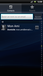 Sony Ericsson Xperia Arc S - E-mail - envoyer un e-mail - Étape 5