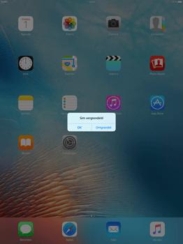Apple iPad Pro 12.9 (1st gen) - iOS 9 - Device maintenance - Een soft reset uitvoeren - Stap 5