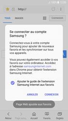 Samsung Galaxy A3 (2017) - Android Nougat - Internet - navigation sur Internet - Étape 10