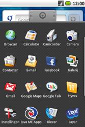 Samsung Galaxy Spica (GT-i5700) - Buitenland - Bellen, sms en internet - Stap 4