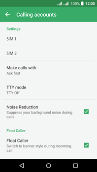 Acer Liquid Z630 - Voicemail - Manual configuration - Step 6