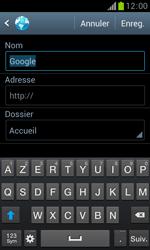 Samsung S7560 Galaxy Trend - Internet - Navigation sur internet - Étape 7