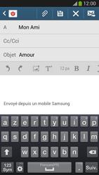 Samsung C105 Galaxy S IV Zoom LTE - E-mail - envoyer un e-mail - Étape 8