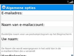 BlackBerry 9790 Bold - E-mail - Handmatig instellen - Stap 15