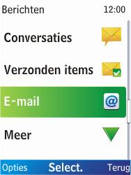 Nokia X2-00 - E-mail - E-mails verzenden - Stap 4
