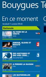 Nokia Lumia 925 - Photos, vidéos, musique - Regarder la TV - Étape 4