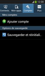 Samsung Galaxy Core Plus - Device maintenance - Retour aux réglages usine - Étape 6