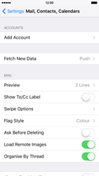 Apple iPhone 6 - E-mail - Manual configuration (gmail) - Step 4