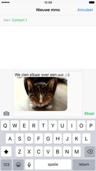 Apple iPhone 6 Plus iOS 9 - MMS - afbeeldingen verzenden - Stap 12