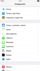 Apple iPhone 6 Plus iOS 8 - E-mail - Configurar Outlook.com - Paso 3