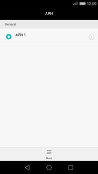 Huawei GX8 - Mensajería - Configurar el equipo para mensajes multimedia - Paso 6