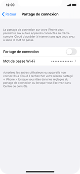 Apple iPhone X - iOS 13 - Internet - comment configurer un point d'accès mobile - Étape 6