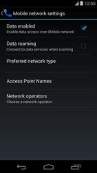 LG D821 Google Nexus 5 - Internet - Usage across the border - Step 7