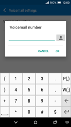 HTC One A9 - Voicemail - Manual configuration - Step 7