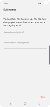 Samsung Galaxy S10e - E-mail - Manual configuration - Step 20