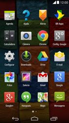 Motorola Moto X (2014) - Rede móvel - Como ativar e desativar uma rede de dados - Etapa 3