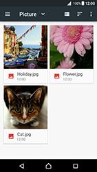 Sony Xperia X - Android Nougat - E-mail - Envoi d