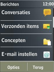 Nokia X3-02 - E-mail - Handmatig instellen - Stap 5
