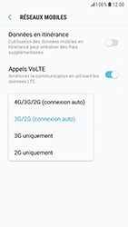 Samsung G920F Galaxy S6 - Android Nougat - Réseau - Changer mode réseau - Étape 7