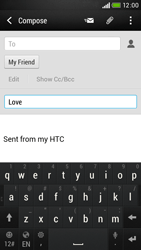 HTC Desire 601 - E-mail - Sending emails - Step 9