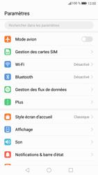 Huawei P9 Lite - Android Nougat - WiFi et Bluetooth - Configuration manuelle - Étape 3