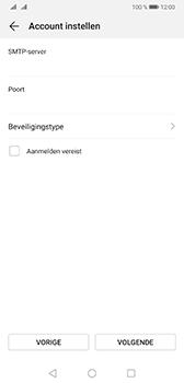 Huawei Mate 20 - E-mail - Handmatig instellen - Stap 16