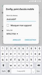 Samsung Galaxy A3 (2017) (A320) - Internet et connexion - Partager votre connexion en Wi-Fi - Étape 9