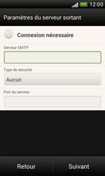 HTC T328e Desire X - E-mail - Configuration manuelle - Étape 13