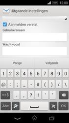 Sony Xperia E3 - E-mail - e-mail instellen: IMAP (aanbevolen) - Stap 14