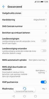 Huawei Mate 10 Lite (Model RNE-L21) - SMS - Handmatig instellen - Stap 6