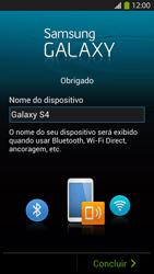 Samsung I9500 Galaxy S IV - Primeiros passos - Como ativar seu aparelho - Etapa 16