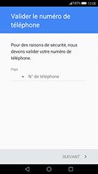 Huawei P10 - Applications - Créer un compte - Étape 6