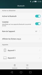 Huawei Ascend G7 - Bluetooth - connexion Bluetooth - Étape 8