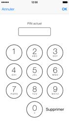 Apple iPhone 5c - Sécuriser votre mobile - Personnaliser le code PIN de votre carte SIM - Étape 10