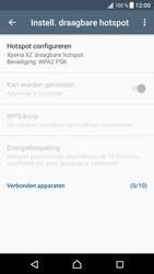 Sony Xperia XZ - Android Nougat - WiFi - Mobiele hotspot instellen - Stap 10
